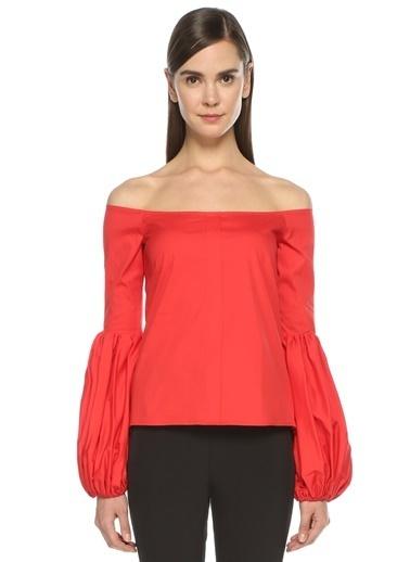 Caroline Constas Bluz Kırmızı